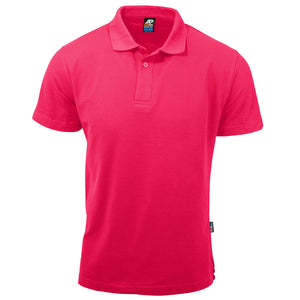 The Hunter Polo | Mens | Short Sleeve | Fuchsia
