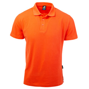The Hunter Polo | Mens | Short Sleeve | Orange