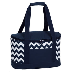 Oasis Cooler | Navy/White