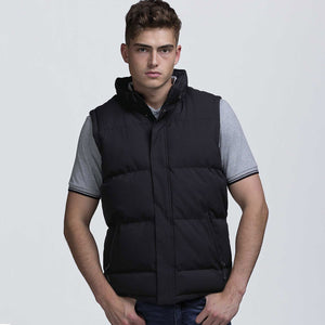 Junction Puffa Vest | Black