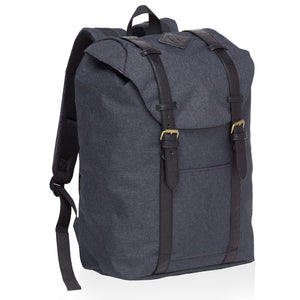 Front Side Back Pack | Grey Marle