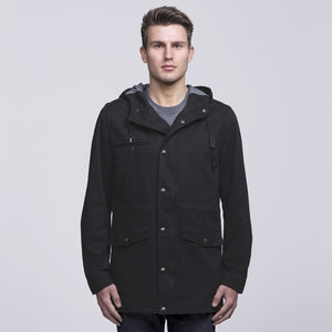 Heritage Twill Jacket | Black