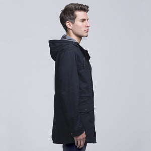 Heritage Twill Jacket | Navy