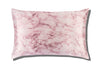 Pink Marble Queen Zippered Pillowcase