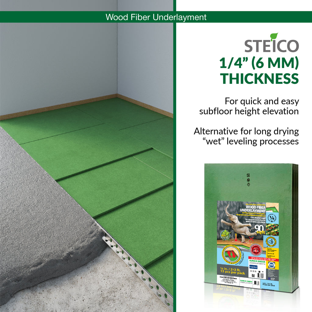 ".25"" 6mm thickness flooring underlayment"
