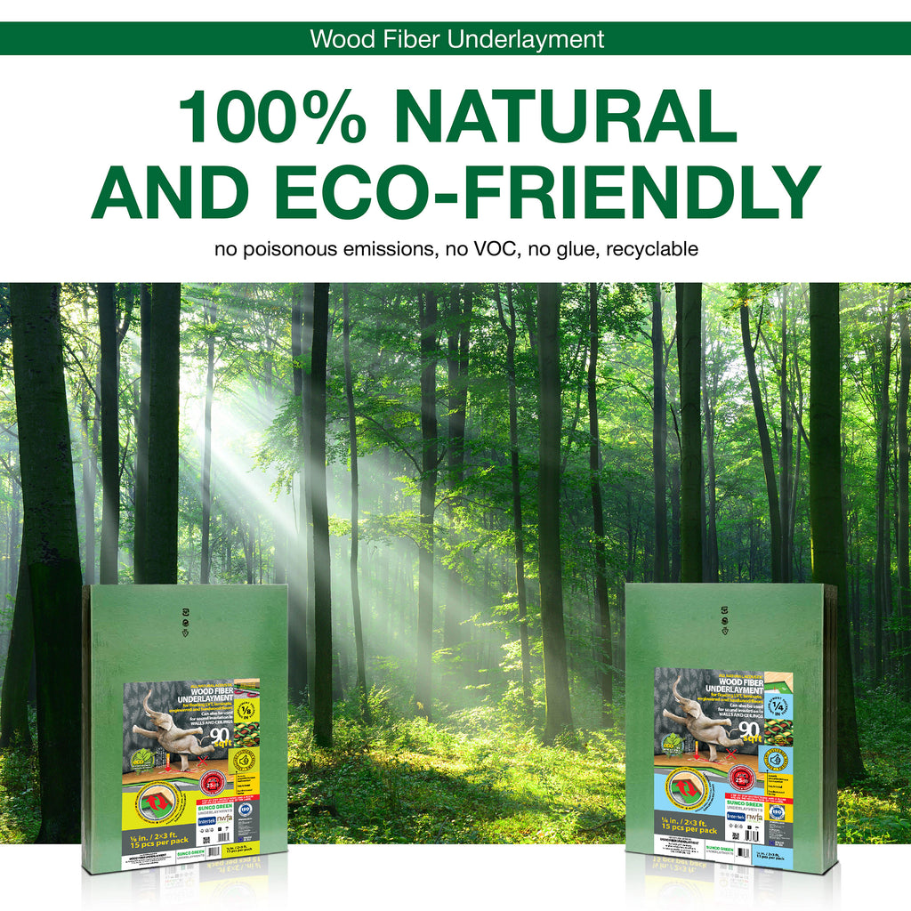 Eco Friendly, Natural Floor Underlayment