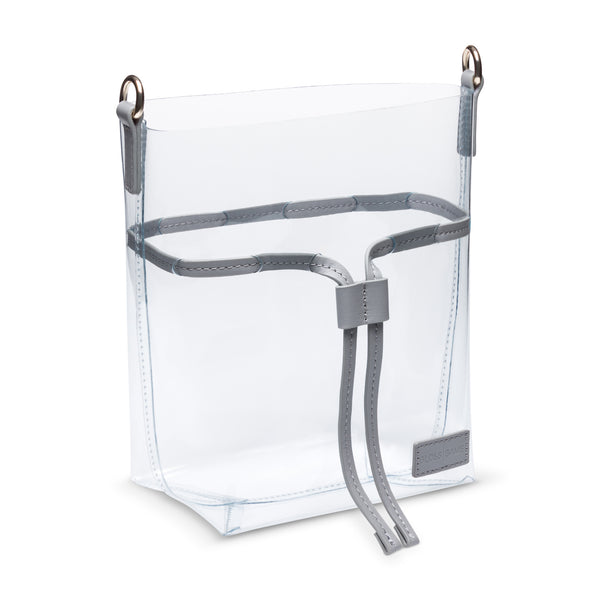 Designer Clear Handbags - See Through Stadium Bag
