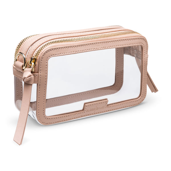 Designer Clear Handbags - Transparent Stadium Bags