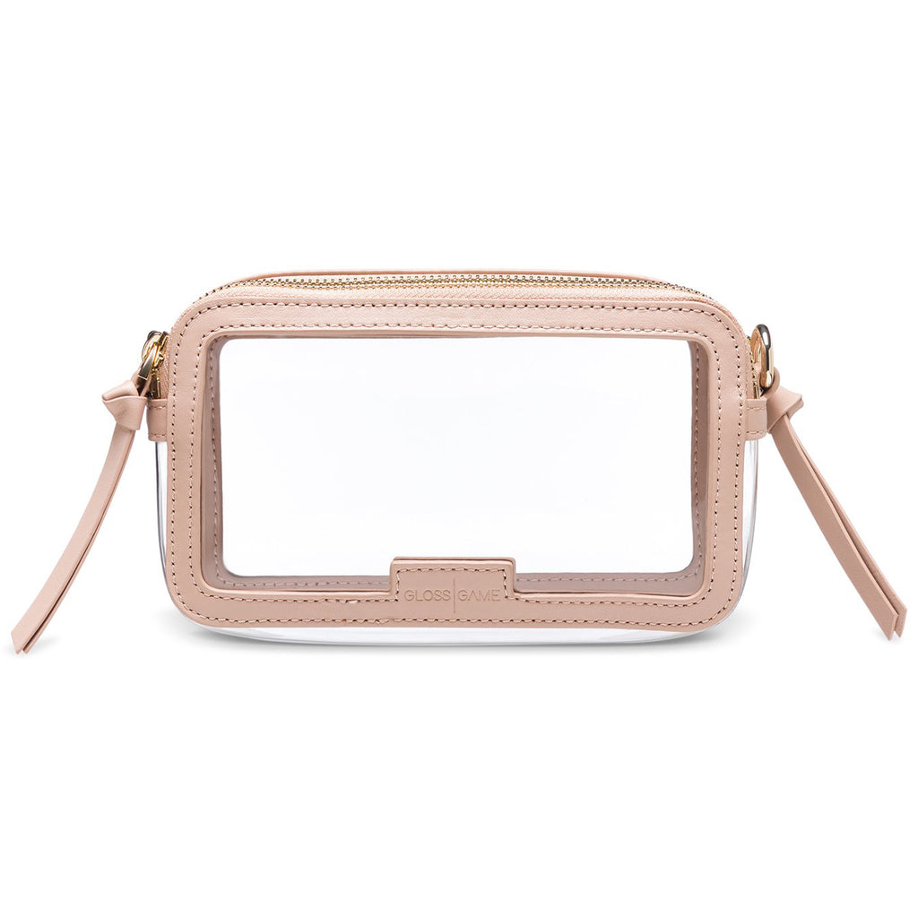 Stylish Clear Handbag - Transparent Stadium Bags