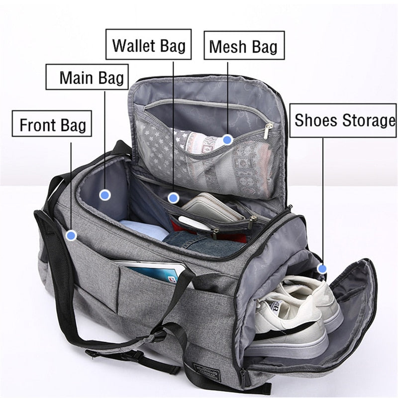 Multifunction Travel Anti Theft Backpack - TRAVEL CONPASSION
