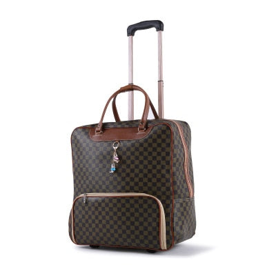 Trolley Luggage Rolling Suitcase - TRAVEL CONPASSION