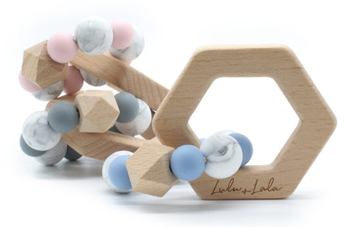 Lulu + Lala Lennox teether