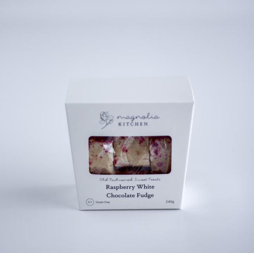 Magnolia Kitchen Raspberry White Chocolate Fudge