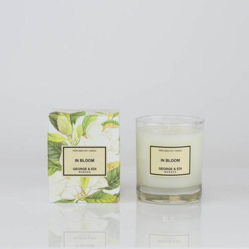 George & Edi candle - In Bloom