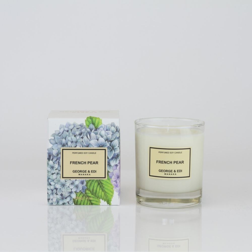 George + Edi Candle - French Pear
