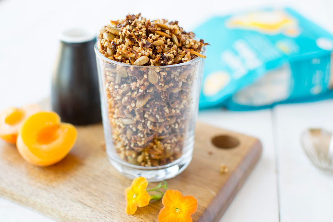 Lupin Orange Granola