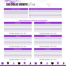 Load image into Gallery viewer, She Evolve 90 Day Planner