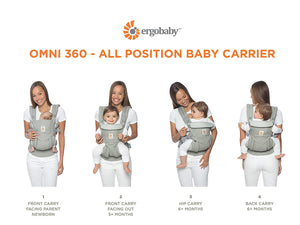 Ergobaby Omni 360 Carrier - Cool Air Mesh
