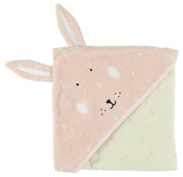 Trixie Rabbit Hooded Towel
