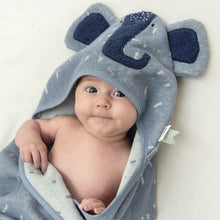 Load image into Gallery viewer, Trixie Hooded Towel - Elephant