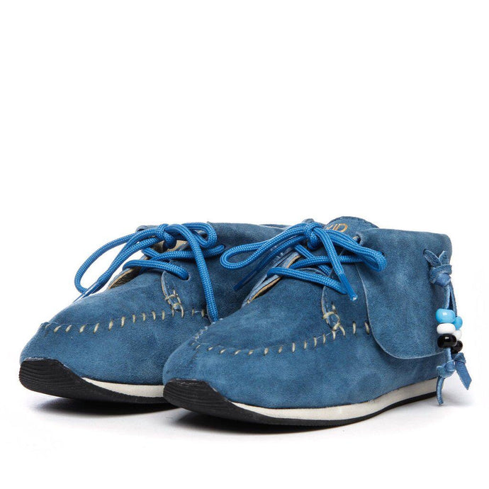 AKID Blue Suede Shoes