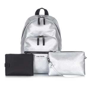 Elwood Backpack Silver