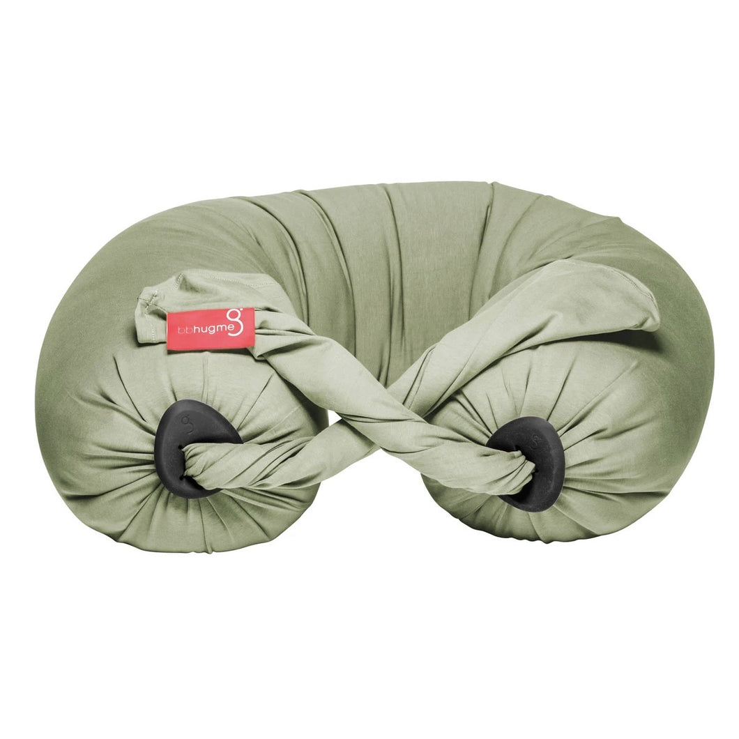 Pregnancy Pillow - Dusty Olive/Black