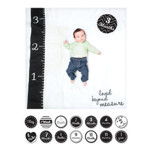 Load image into Gallery viewer, Baby's First Year - Loved Beyond Measure - Blanket & Card Set