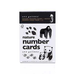 Nature Number Cards for Baby