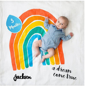 Baby's First Year - A Dream Come True - Blanket & Card Set
