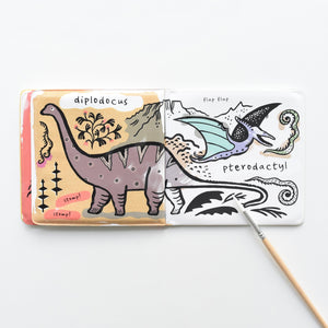 Bath Book - Colour Me Dinosaurs