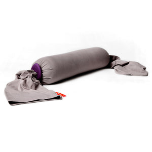 Pregnancy Pillow - Stone/Plum