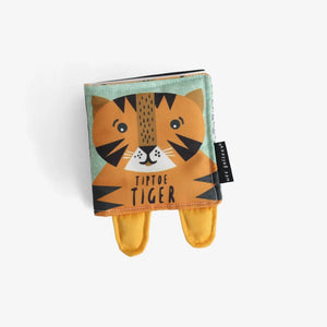 Friendly Faces Soft Book - Tip Toe Tiger