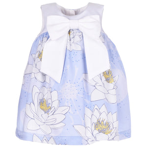 Giant Bow Trapeze Baby Dress & Bloomers