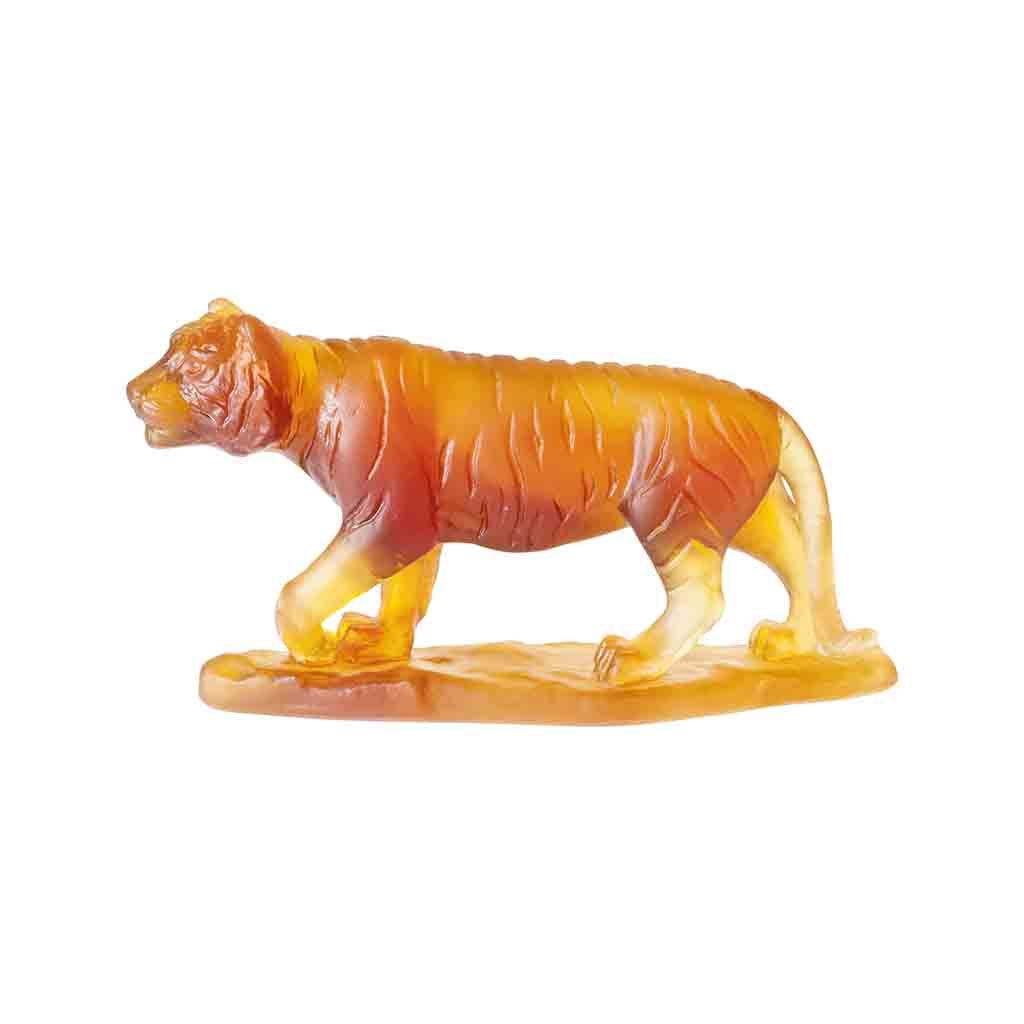"Tiger ""Chinese Horoscopes"" Daum-Animal Sculptures-Daum-[Australia]-DA-05566-Merry & Modern"
