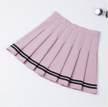 "Load image into Gallery viewer, ""Let''s go down to the Tennis Court"" Pleated Skirt"