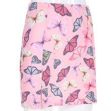 "Load image into Gallery viewer, ""Butterfly Brat"" Skirt and Crop Top"