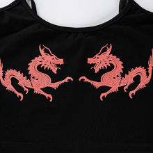 "Load image into Gallery viewer, ""Red Dragon"" Tank Top"
