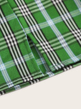 "Load image into Gallery viewer, ""Pink + Green"" Plaid Skirts"