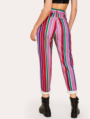 """Nostalgia in London"" Striped Pants"