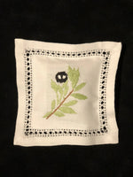 Hand embroidered Lavender scented sachet