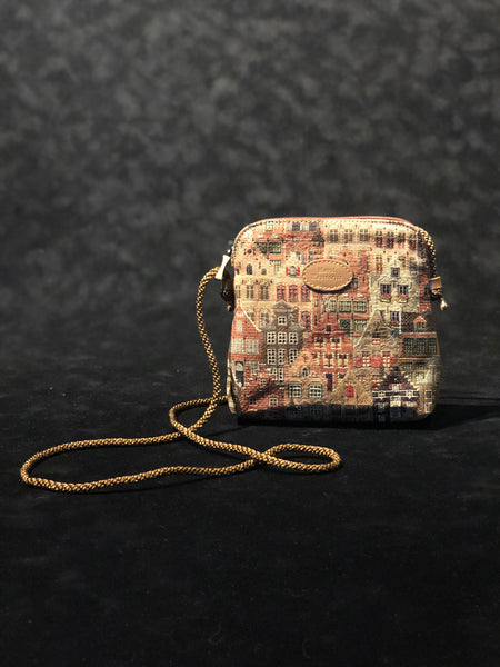 Handbag with cord - Houses