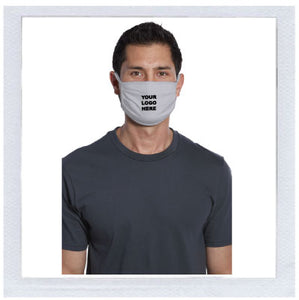 Anti-Microbial Face Mask - Imprinted