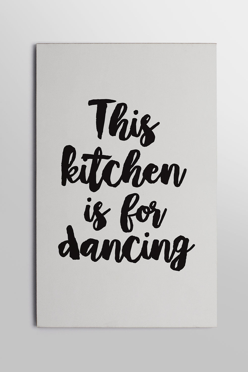 Placa This Kitchen is for Dancing 20cm x 29cm