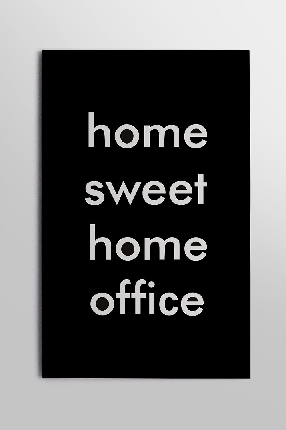 Placa Home Sweet Home Office 20cm x 29cm
