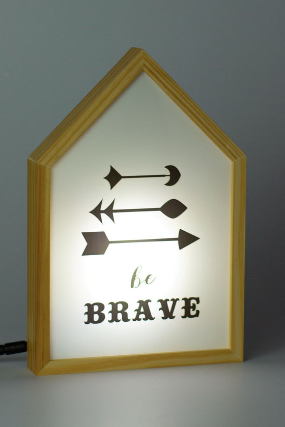 Quadro Luminebox Formato Casa Brave