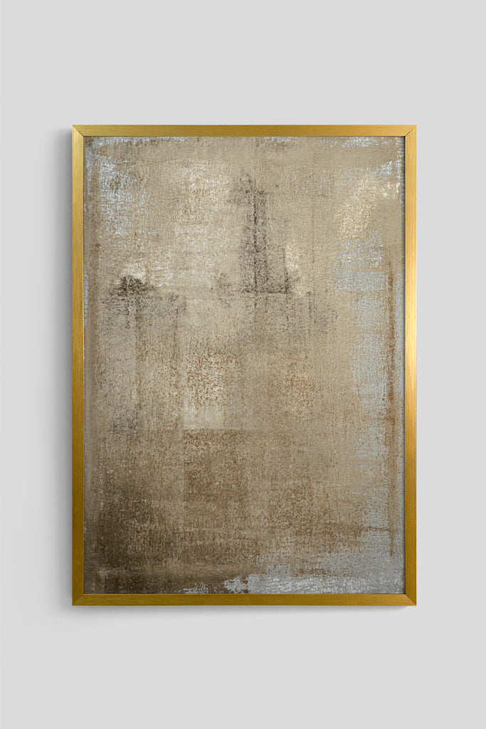 Quadro Metal Abstract 46cm x 64cm
