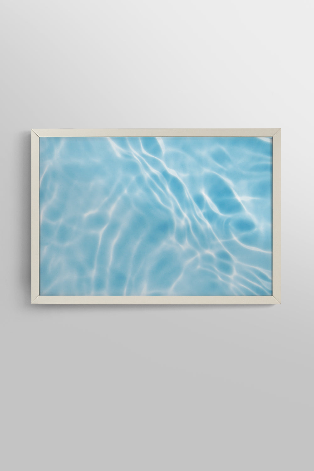 Quadro Acqua Fit White 32x46cm