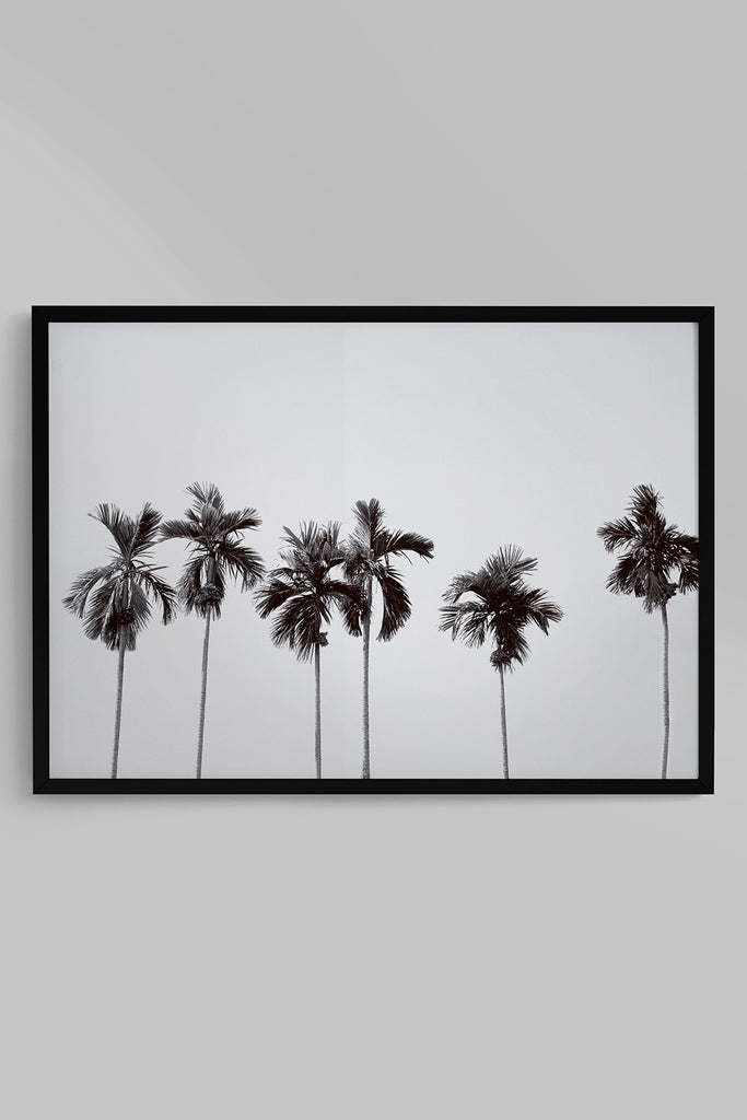 Quadro Costela de Adão Moldura Fit Black 46x64cm