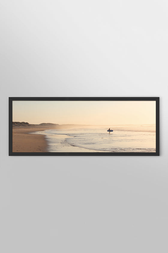Quadro A Mar Box Black 127 x 46cm